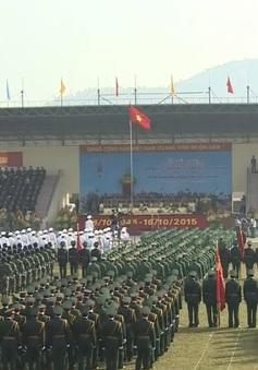 Kỷ niệm 70 năm ngày truyền thống lực lượng vũ trang Quân khu 1