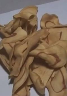 Thái Bình: Thu giữ hơn 2 tấn quẩy không rõ nguồn gốc