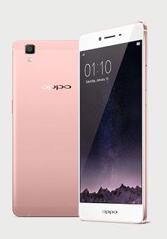 OPPO R7s vàng hồng và vàng kim ra mắt tại Việt Nam