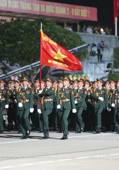 Một túi nhu yếu phẩm phục vụ lễ diễu binh, diễu hành gồm những gì?