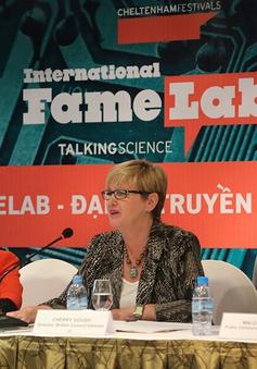 Cuộc thi khoa học quốc tế FameLab lần đầu đến Việt Nam