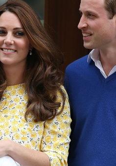Tên của công chúa nhỏ nước Anh được nhiều người đặt cược nhất