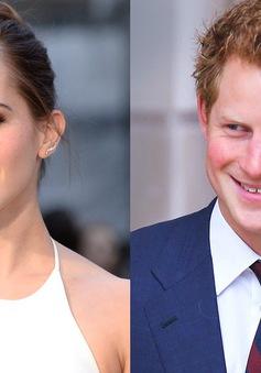 Hoàng tử Harry bí mật hẹn hò Emma Watson?