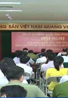 Đồng chí Tô Huy Rứa tiếp xúc cử tri Khu công nghiệp Yên Phong, Bắc Ninh