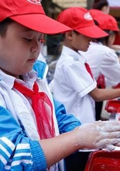 Trẻ em hưởng ứng Ngày Thế giới rửa tay với xà phòng