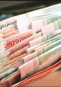 Đồng Ruble tiếp tục quay đầu giảm giá