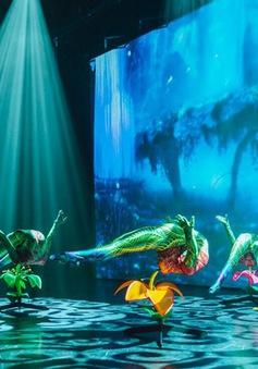 Mãn nhãn show xiếc, múa trên nền 3D lần đầu tiên tại Hà Nội