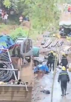 Sập hầm lò tại Hòa Bình: Đặt mục tiêu tiếp cận 2 nạn nhân trong đêm 20/11