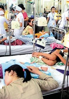 Sốt xuất huyết tăng đột biến tại Tiền Giang