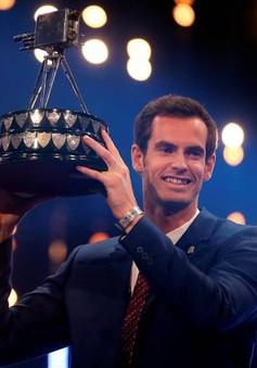 """Andy Murray được tôn vinh là """"Nhân vật thể thao của năm 2015"""""""