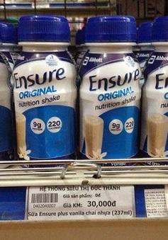 Hà Nội: Thu giữ hơn 27.000 lon sữa Ensure dạng nước nhập lậu