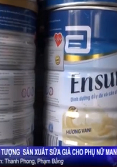 TP.HCM: Bắt đối tượng sản xuất sữa giả cho phụ nữ mang thai