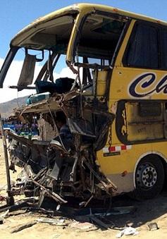 Tai nạn giao thông thảm khốc ở Peru, 36 người thiệt mạng