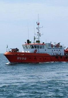 Tìm thấy thi thể 1 ngư dân vụ chìm tàu trên vùng biển Bình Thuận