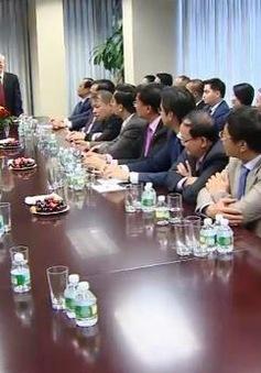 Tổng Bí thư thăm Phái đoàn thường trực Việt Nam tại LHQ