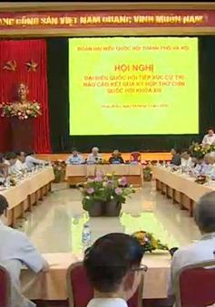 Tổng Bí thư tiếp xúc cử tri thành phố Hà Nội