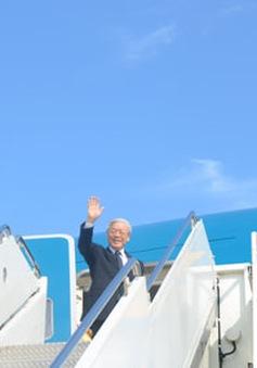 Tổng Bí thư Nguyễn Phú Trọng kết thúc tốt đẹp chuyến thăm Nhật Bản