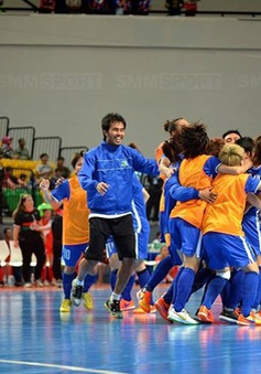 Đội Futsal nữ Thái Sơn Nam vô địch Đông Nam Á