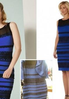 """Chiếc váy """"ma quái"""" có màu xanh đen"""
