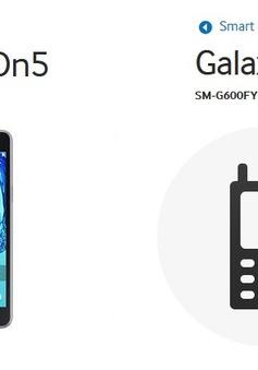 Samsung sắp 'tung' bộ đôi smartphone giá rẻ Galaxy On5 - Galaxy On7