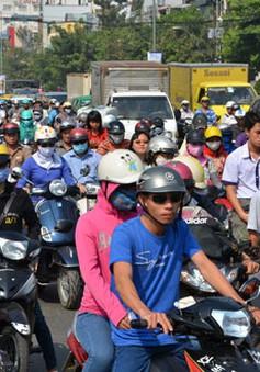 Thị lực hai mắt dưới 4/10 không được lái xe máy