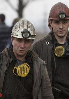 Ukraine: Đưa thi thể công nhân mỏ thiệt mạng ra ngoài