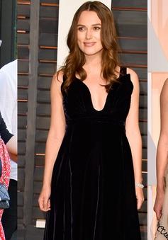 Phong cách thời trang điệu đà của bà bầu Keira Knightley