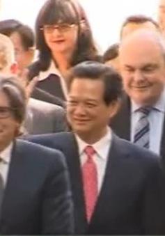 Thủ tướng Nguyễn Tấn Dũng thăm Đại học Công nghệ Auckland