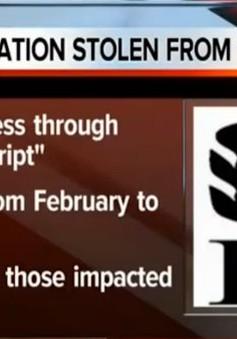 Mỹ: Hàng trăm nghìn hộ gia đình bị ăn cắp thông tin