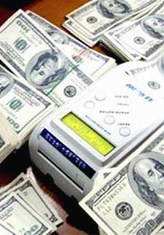 Tỉ giá USD giảm sau khi NHNN công bố giá trần