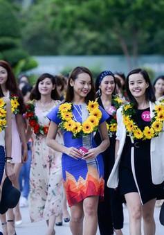 Top 70 Hoa hậu Hoàn vũ Việt Nam khoe sắc rạng ngời tại Nha Trang