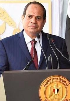 Tổng thống Ai Cập thăm Vương quốc Anh