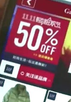 Người dân Trung Quốc được cảnh giác khi mua sắm trong ngày lễ Độc thân