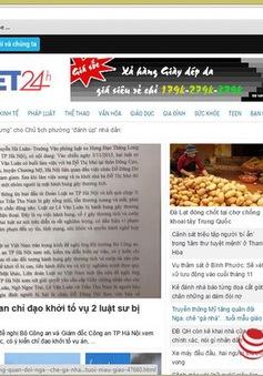 Thu hồi giấy phép hoạt động của Trí Việt 24h