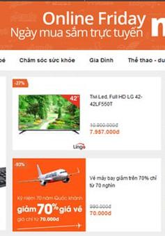 Hôm nay, bắt đầu ngày hội mua sắm trực tuyến của Việt Nam