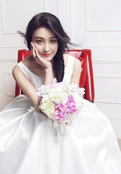 """Sao phim """"Võ Mỵ Nương truyền kỳ"""" đẹp ngọt ngào trên tạp chí Brides"""
