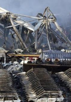 Thủ tướng Trung Quốc thị sát hiện trường vụ nổ ở Thiên Tân