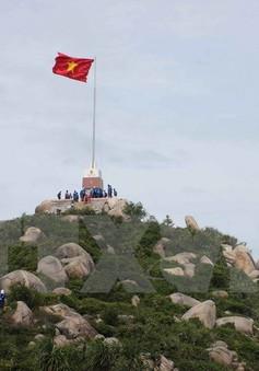 Khởi công xây dựng Cột cờ Tổ quốc tại đảo Phú Quý