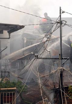 TP.HCM: Cháy lớn trong phòng trọ, 2 người tử vong