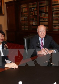 Tổng Bí thư Nguyễn Phú Trọng gặp gỡ Nghị sỹ Thượng viện, Hạ viện Hoa Kỳ