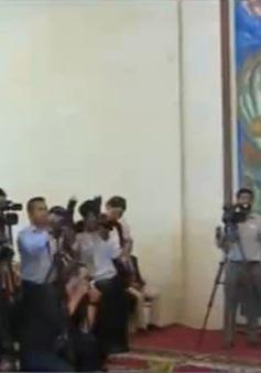 Bảo tàng Mỹ trao trả tượng cổ cho Campuchia