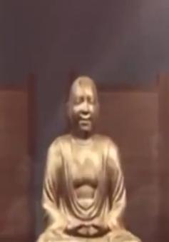 Xác ướp 1.000 năm tuổi của vị sư được bọc trong tượng Phật