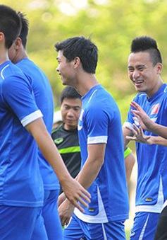 U23 Việt Nam tự tin và thoải mái tâm lý trước trận gặp U23 Lào