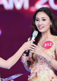 Xem lại phần thi ứng xử của Hoa hậu Hoàn vũ Việt Nam 2015
