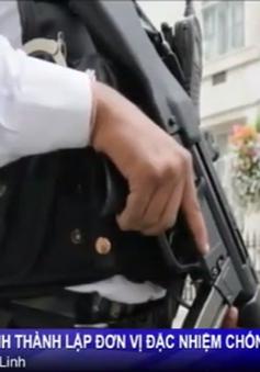 Cảnh sát Anh thành lập đơn vị đặc nhiệm chống khủng bố mới