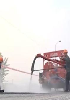 Công nghệ trám vá đường hiện đại được ứng dụng tại Việt Nam