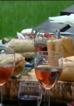 Sản xuất rượu vang tại Anh được lợi nhờ khí hậu ấm lên