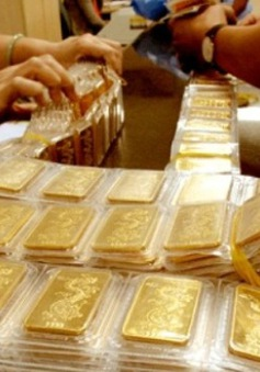 Giá vàng trong nước tăng giảm thất thường