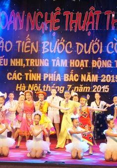 Trao giải Liên hoan nghệ thuật thiếu nhi các tỉnh phía Bắc 2015