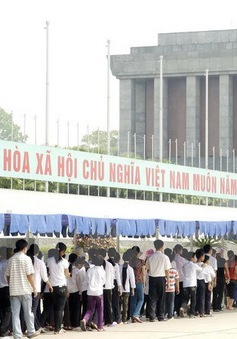 Từ 4/9, tạm ngừng tổ chức viếng Lăng Chủ tịch Hồ Chí Minh